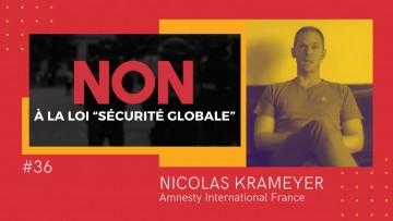 Nicolas Krameyer (Amnesty): «Le déni ne fonctionnant plus, le gouvernement choisit la censure»