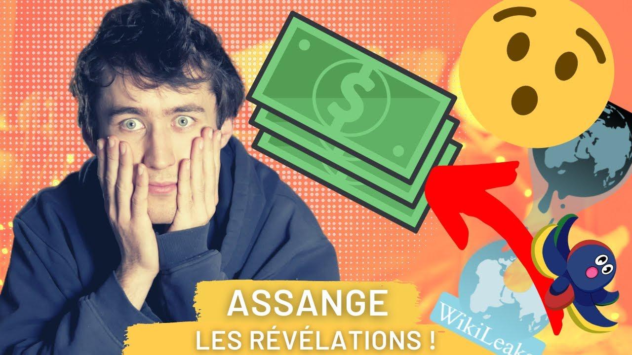 10 révélations INCROYABLES de Wikileaks ! 😍😮   #freeAssange 2/5