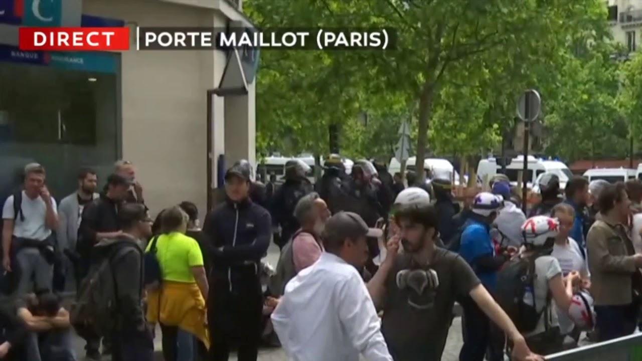 ACTE 28 GILETS JAUNES -13H09 – CORTÈGE PARIS