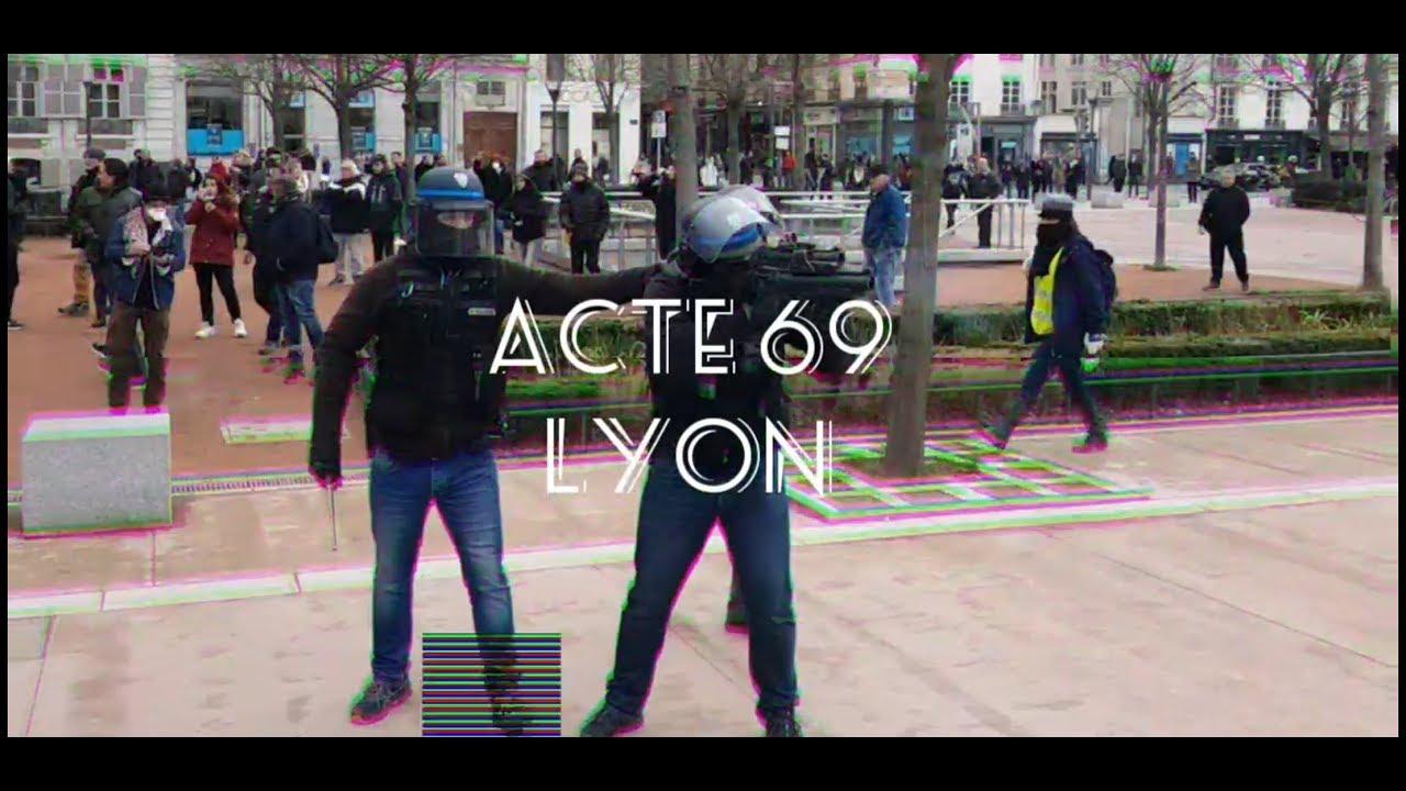 ACTE 69 DES GILETS JAUNES ACTE LXIX A LYON – GUERILLA URBAINE