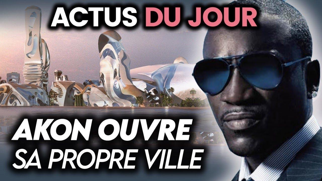 Akon ouvre sa propre ville du futur, Macron au Liban, TikTok menacé aux USA… Actus du jour
