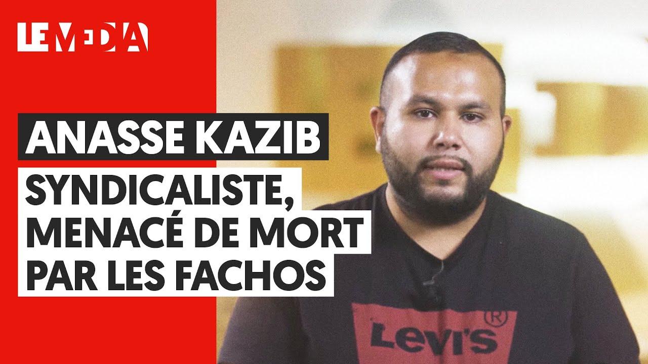ANASSE KAZIB : SYNDICALISTE, MENACÉ DE MORT PAR UN HOMME POLITIQUE
