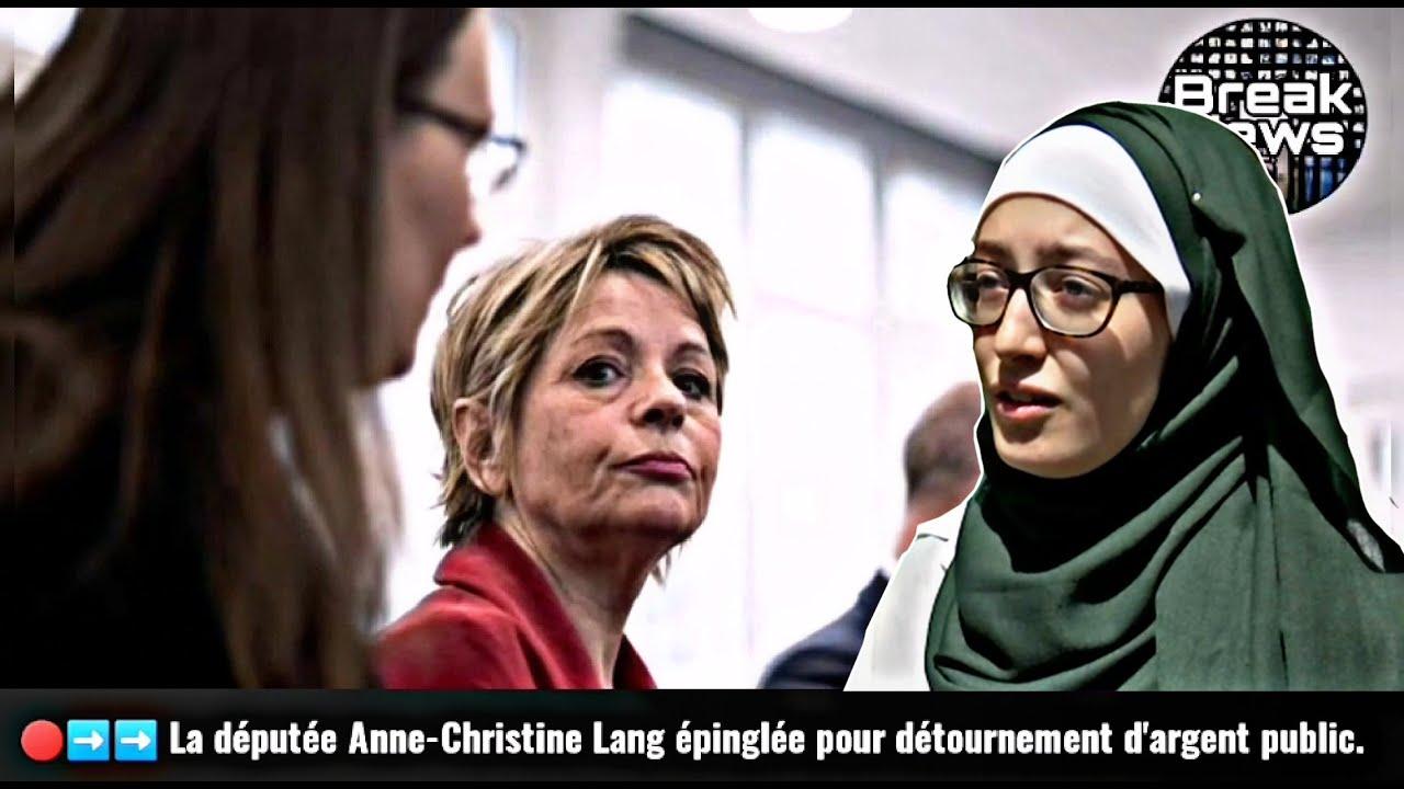Anne-Christine Lang épinglée pour détournement d'argent public