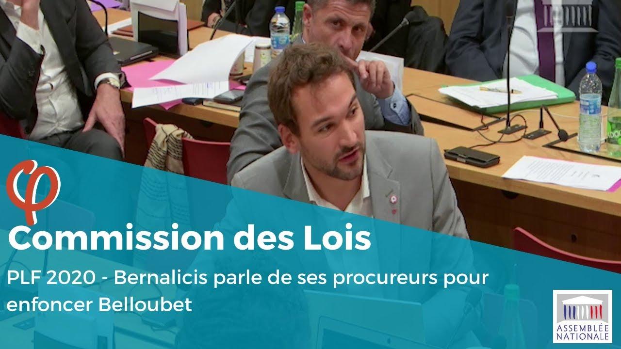Bernalicis parle de ses procureurs pour enfoncer Belloubet