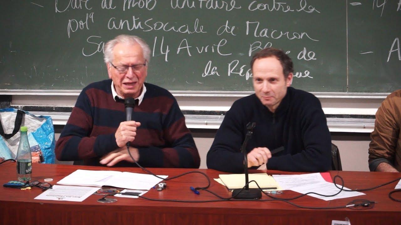 Bernard Friot et Frédéric Lordon Conférence : Commune Libre de Tolbiac – PART 1