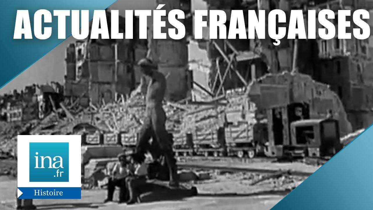 Bilan d'un an, les Actualités Françaises 1945