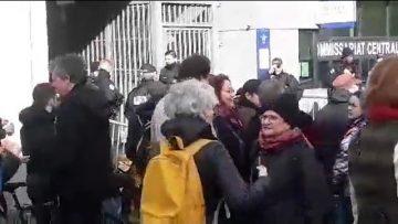 blocage-commissariat-paris-20e-l