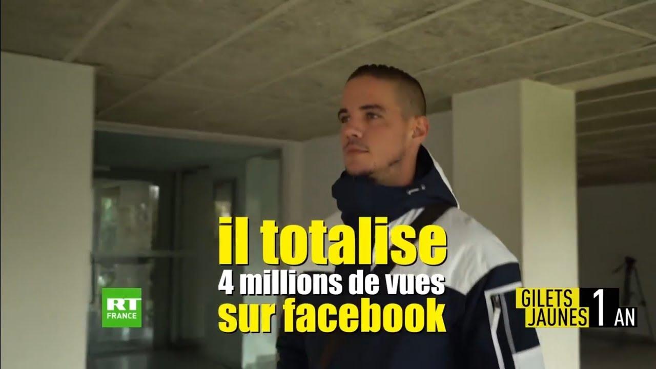 D1ST1 reportage RT France rap Gilet Jaune