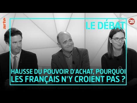FLASH-BACK Débat : «Hausse du pouvoir d'achat» – 28 minutes – ARTE