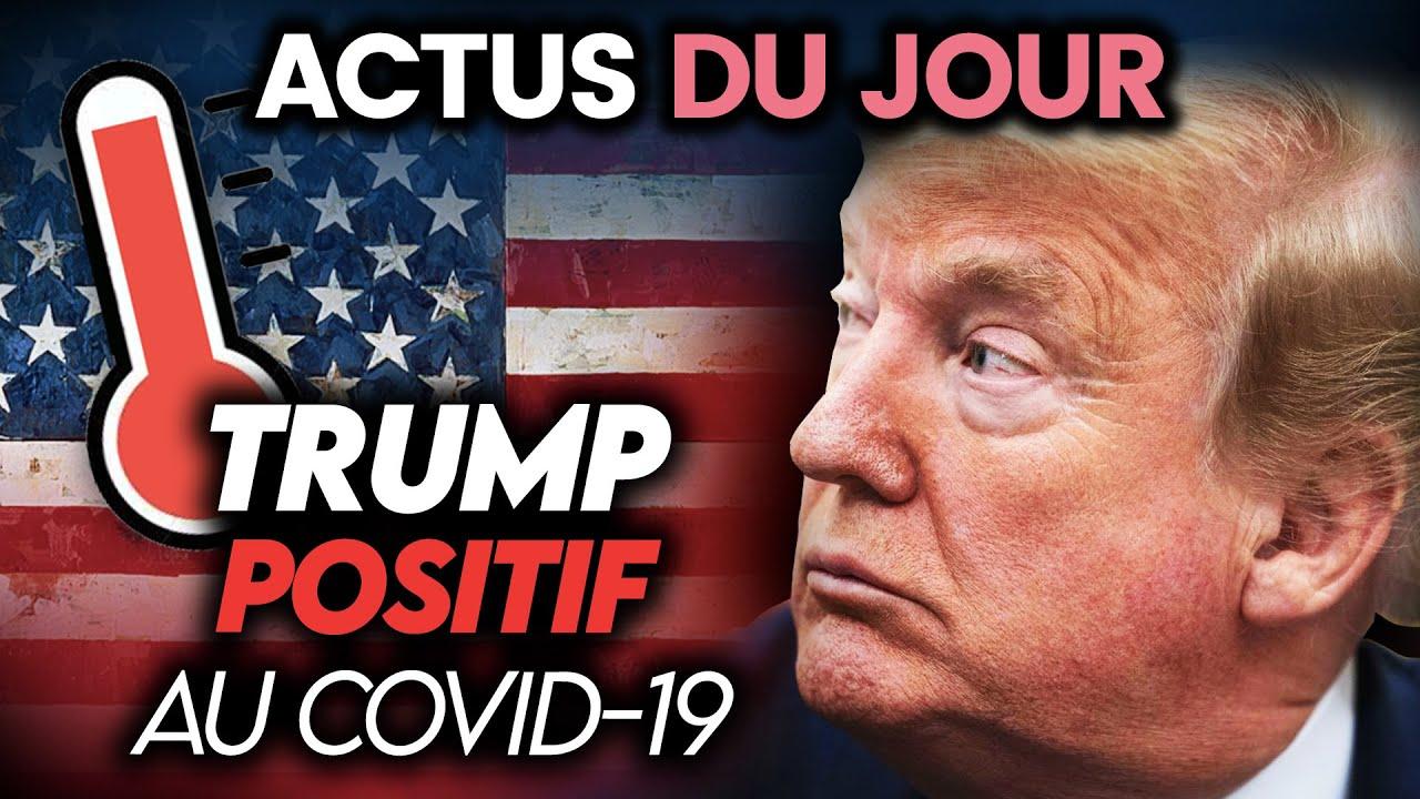 Donald Trump contaminé, discours d'Emmanuel Macron, accord historique… Actus du jour
