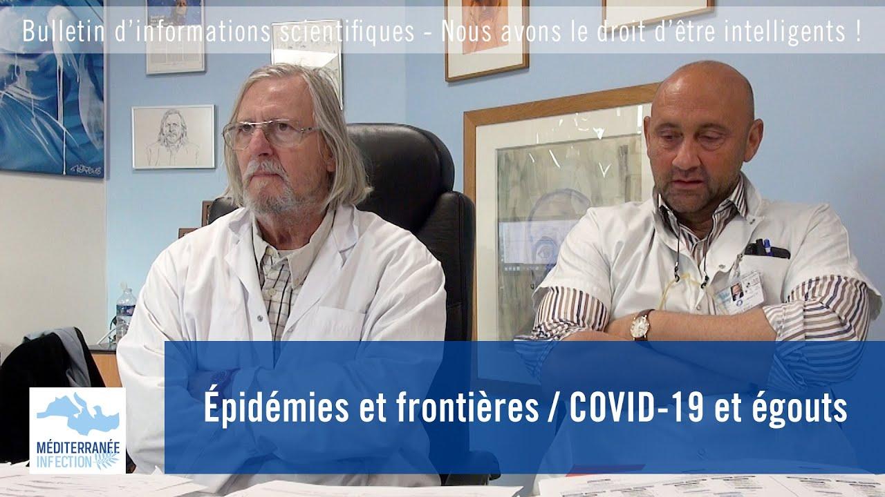 Épidémies et frontières / COVID-19 et égouts