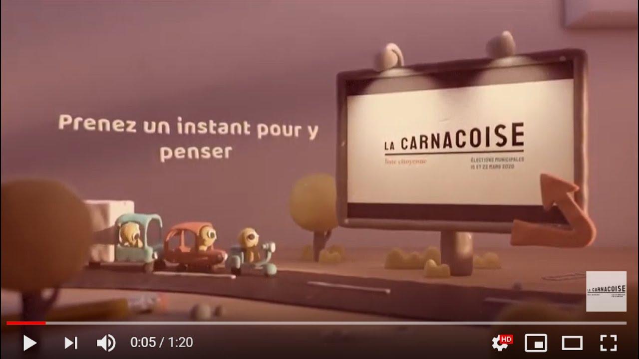 """Film d'animation présentation de la liste citoyenne """"La Carnacoise"""""""