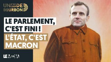 FINI LE PARLEMENT, L'ÉTAT, C'EST MACRON