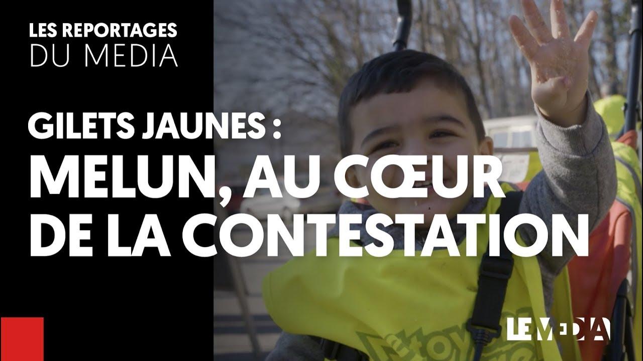 GILETS JAUNES : MELUN, AU COEUR DE LA CONTESTATION
