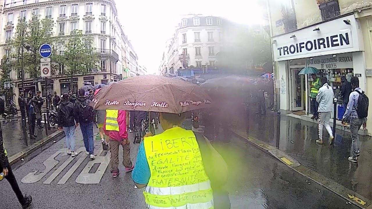 GILETS JAUNES PARIS ACTE 40: retour à la réalité après les vacances
