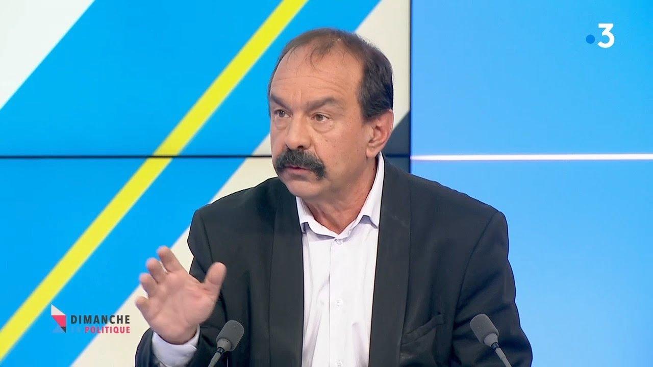 """Itw de Philippe Martinez (CGT): """"Il faut augmenter le SMIC, investir dans les services publics"""""""