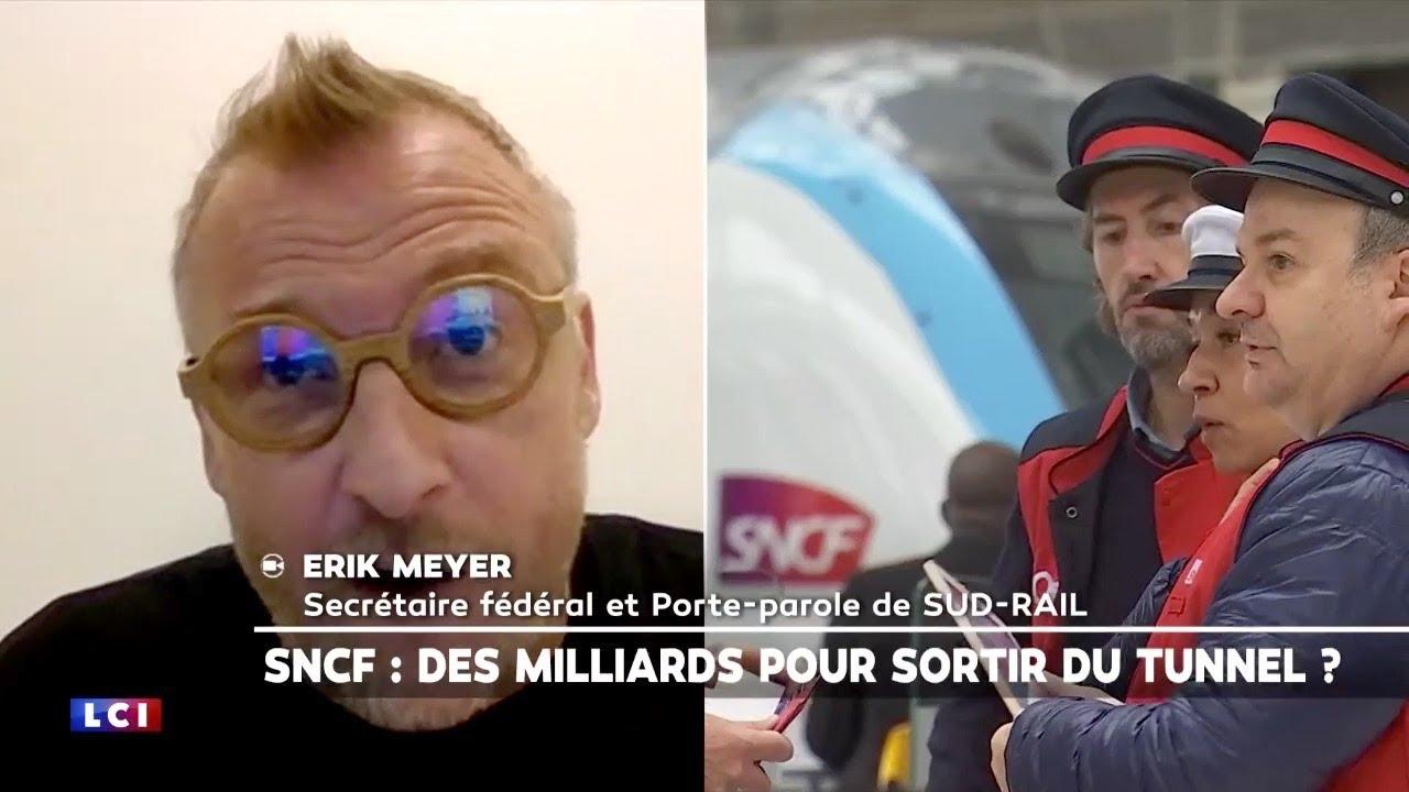 itw d'Erik Meyer (SUD-Rail): dette COVID et plan de relance de la SNCF, fret ferroviaire