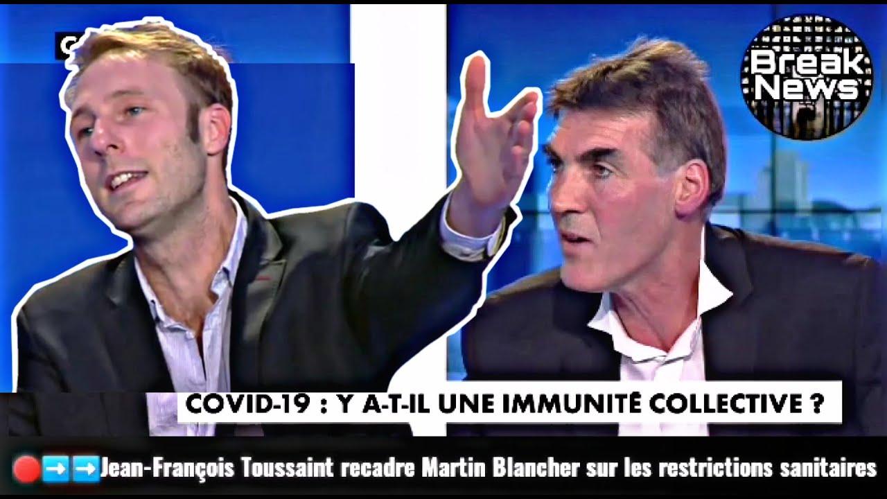 J-François Toussaint recadre un médecin pro-Macron sur les restrictions sanitaires