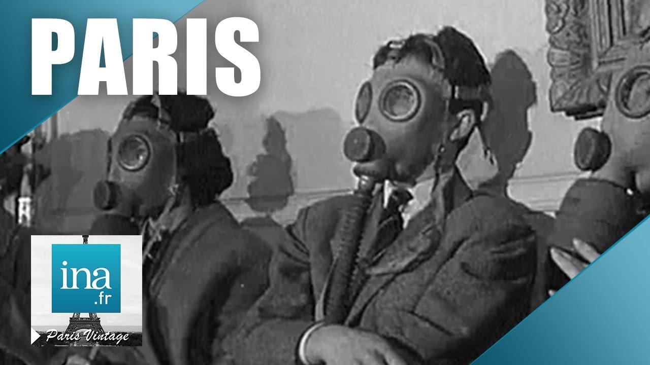 La pollution à Paris en 1960