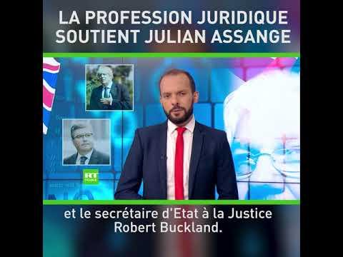 La profession juridique soutient Julian Assange