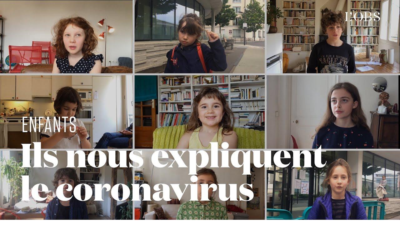 Le coronavirus expliqué par les enfants