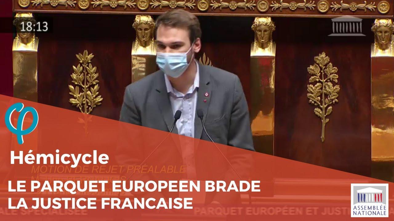 Le parquet européen brade la justice française