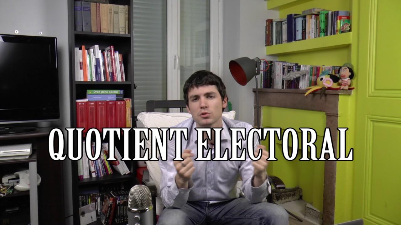 Le suffrage et les modes de scrutin