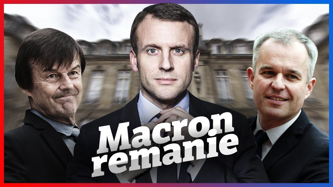 MACRON REMANIE SON GOUVERNEMENT – France of Jupiter