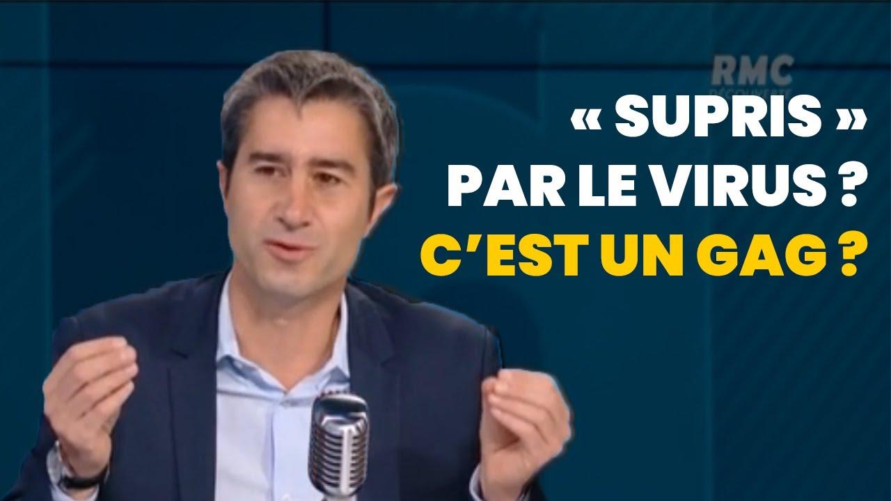 """Macron """"surpris par le virus"""", c'est un gag ?"""