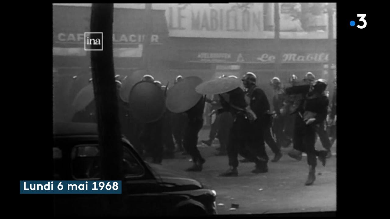Mai 1968 : la semaine des barricades à Paris, racontées par les Actualités françaises