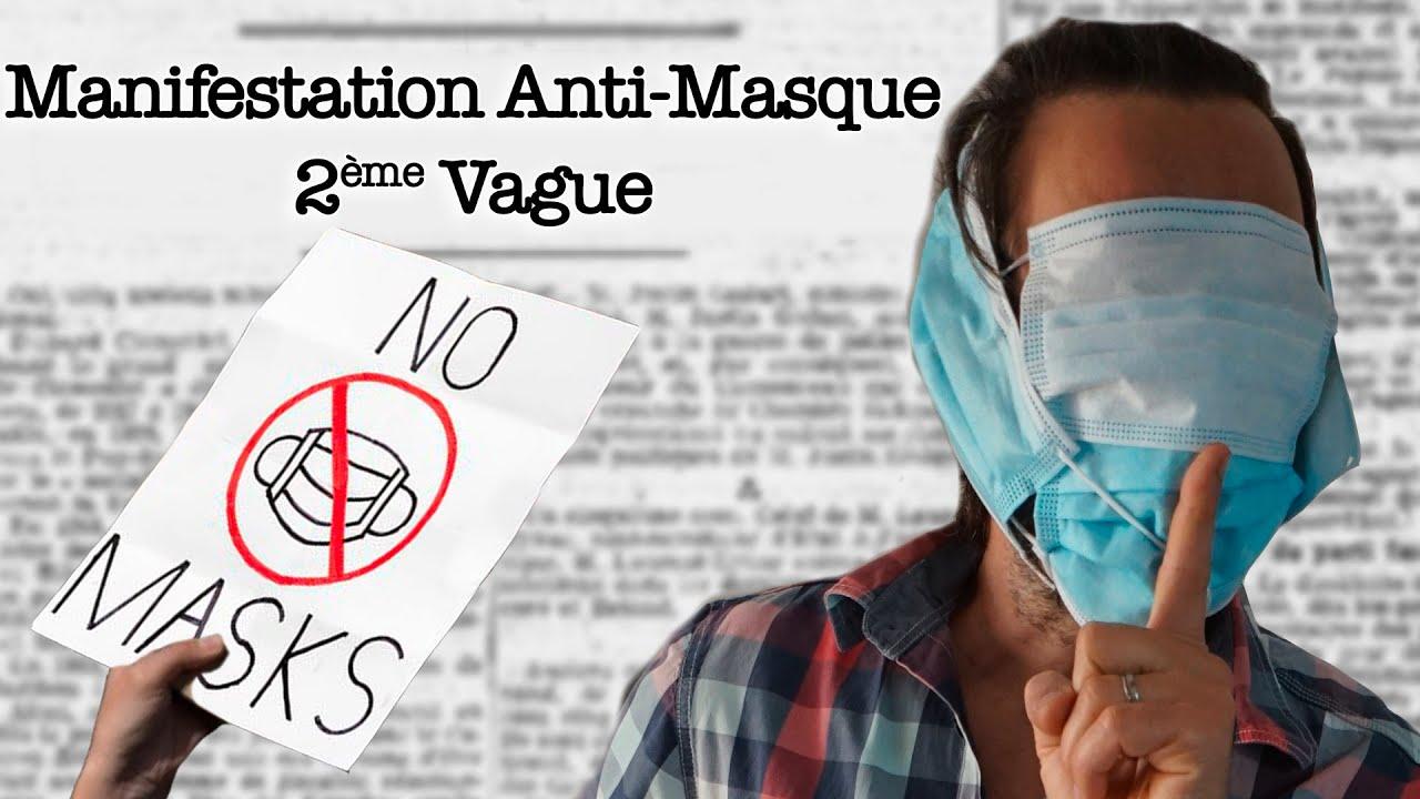 Manifestation ANTI-MASQUE – La Question Vite Répondue
