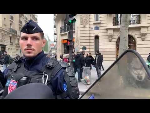 MANIFESTATION GILETS JAUNES PARIS ACTE 69