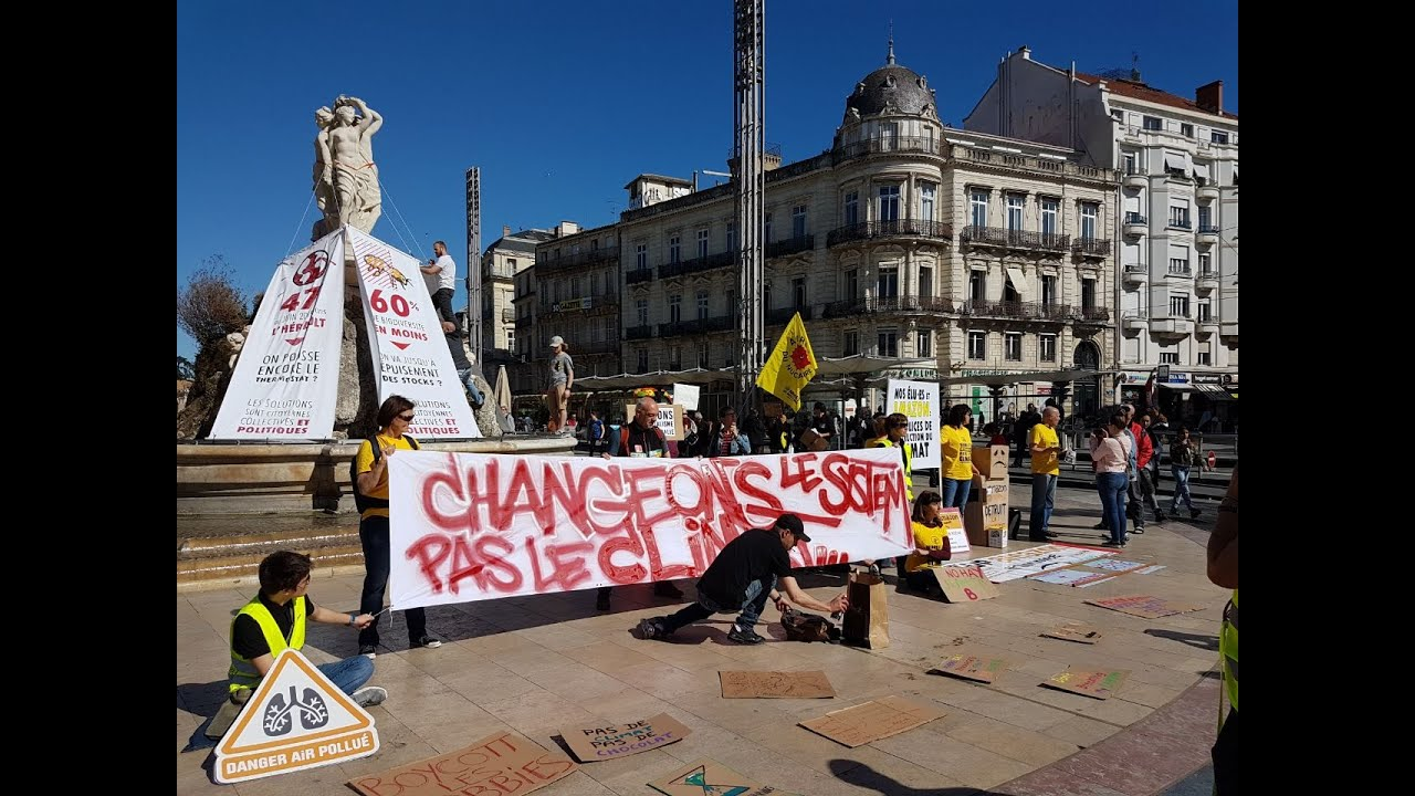 Montpellier : Changeons le système, pas le climat !