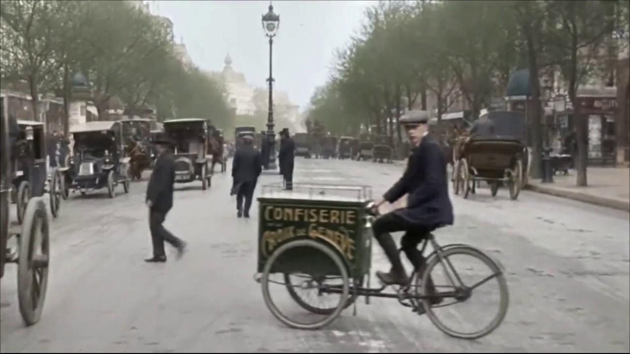Paris en 1900