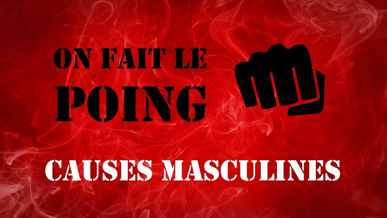 POING ! Causes Masculines