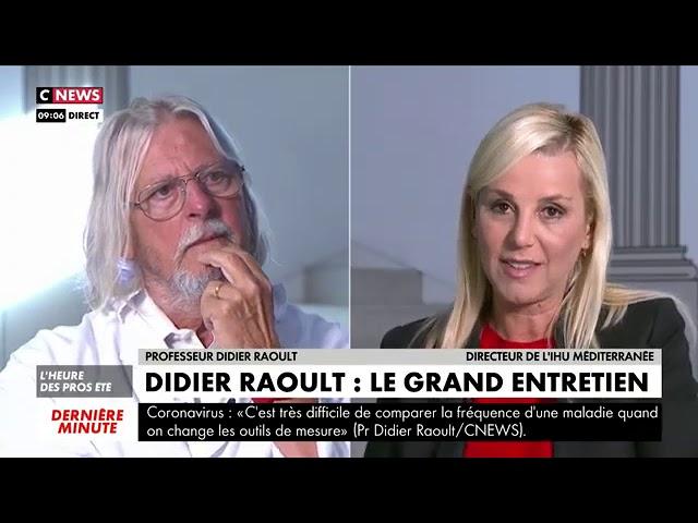 Pr Didier Raoult interview par Laurence Ferrari (Entretien Intégral)