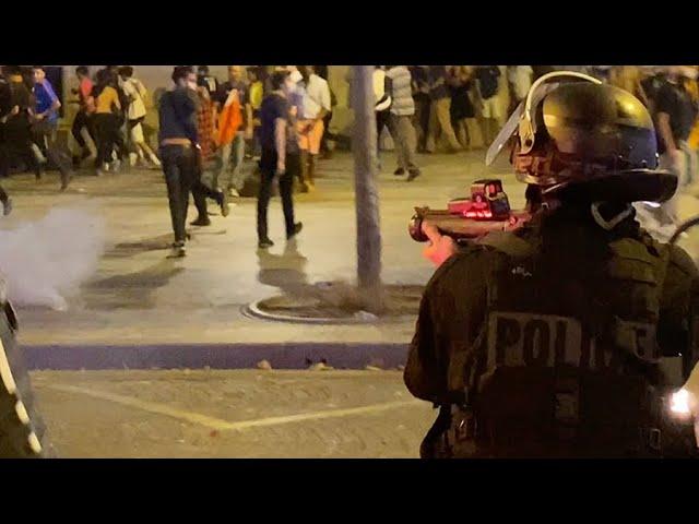 PSG-Leipzig : la fête tourne en incidents et affrontements (18 août 2020, Paris)
