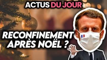 Reconfinement probable après Noël, hack d'iPhones mis sur écoute, Puy-de-Dôme Actus du jour
