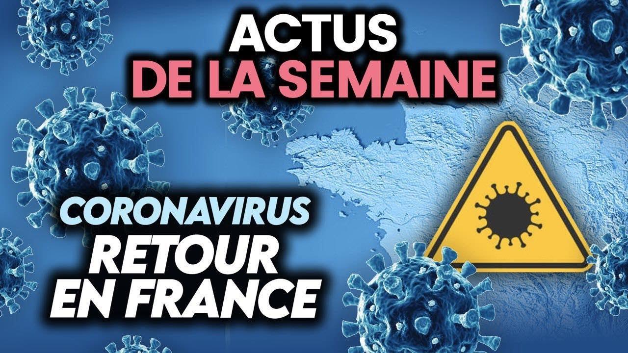 Retour en force du coronavirus en France, Biélorussie, Liban… 5 actus de la semaine
