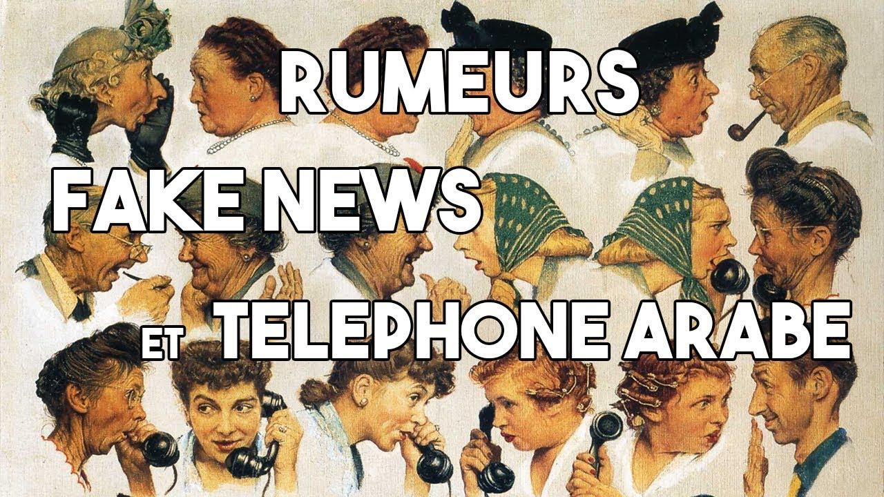 Rumeurs, fake news et téléphone arabe | EPISODE #2