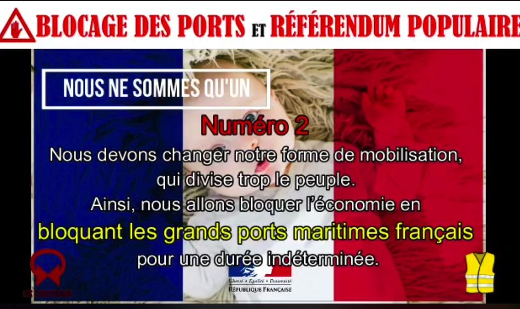Message aux GJ : INFOS BLOCAGE