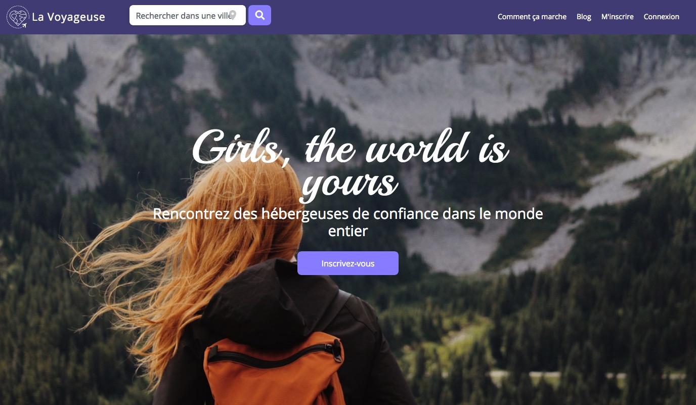 La voyageuse : un réseau d'hébergement gratuit pour les femmes qui voyagent seules