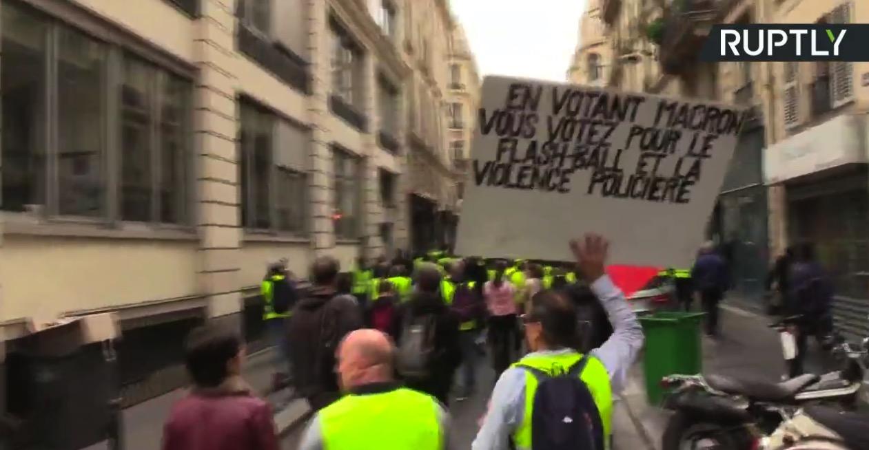 Acte 28 : les Gilets jaunes continuent leur mobilisation à la veille des européennes