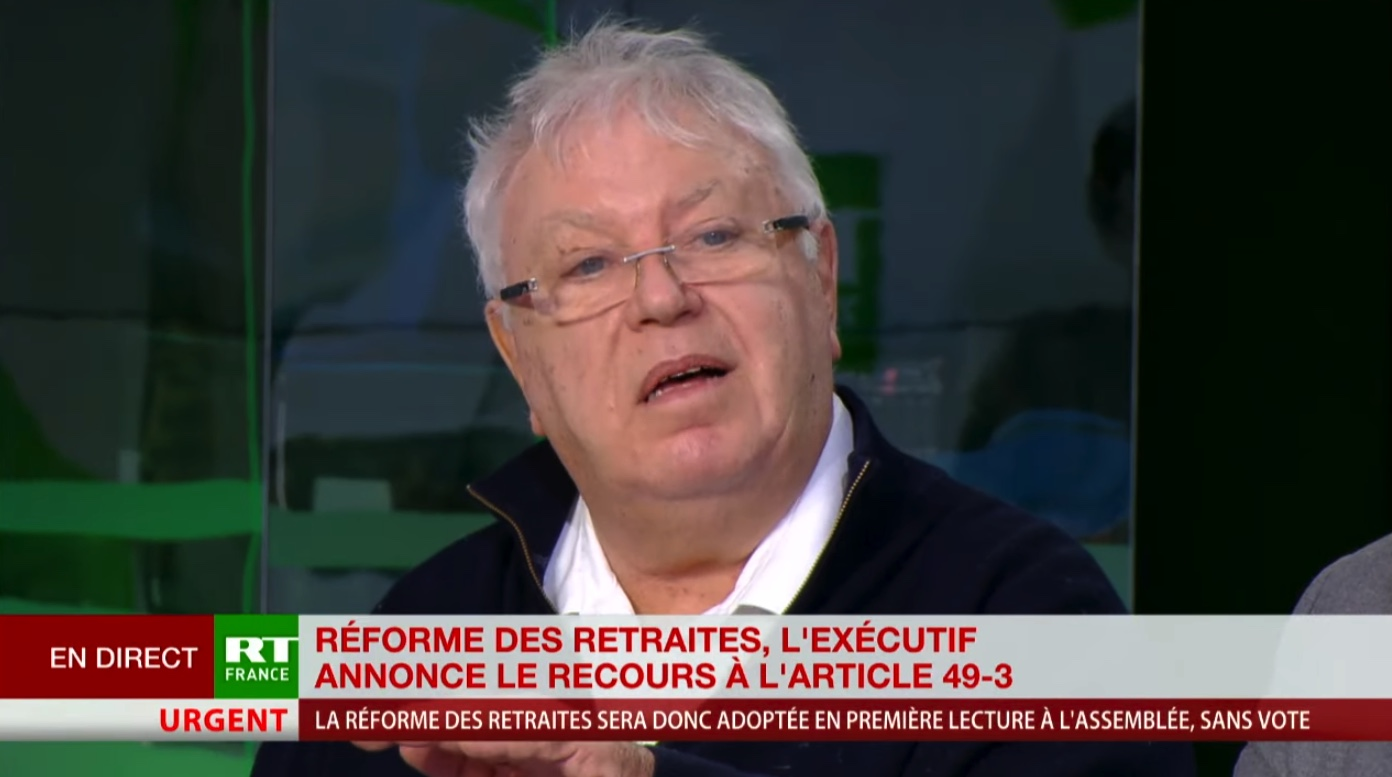 «Ça s'apparente à un coup d'Etat !» : Gérard Filoche indigné par le 49-3