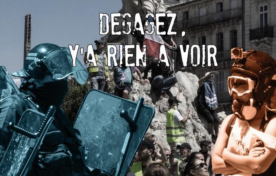 DÉGAGEZ, Y'A RIEN À VOIR, intimidations et violences sur les observateurs et reporters