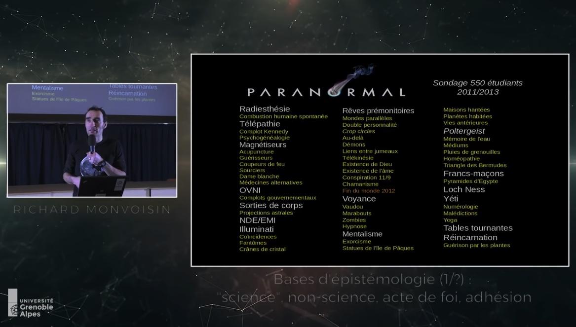Zététique, autodéfense intellectuelle, paranormal, complotisme : Introduction