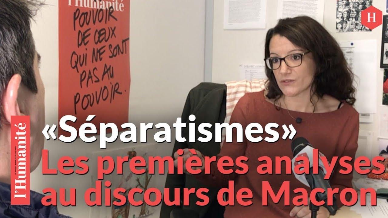 """""""Séparatismes"""" : à 18 mois de la présidentielle, Macron se positionne"""