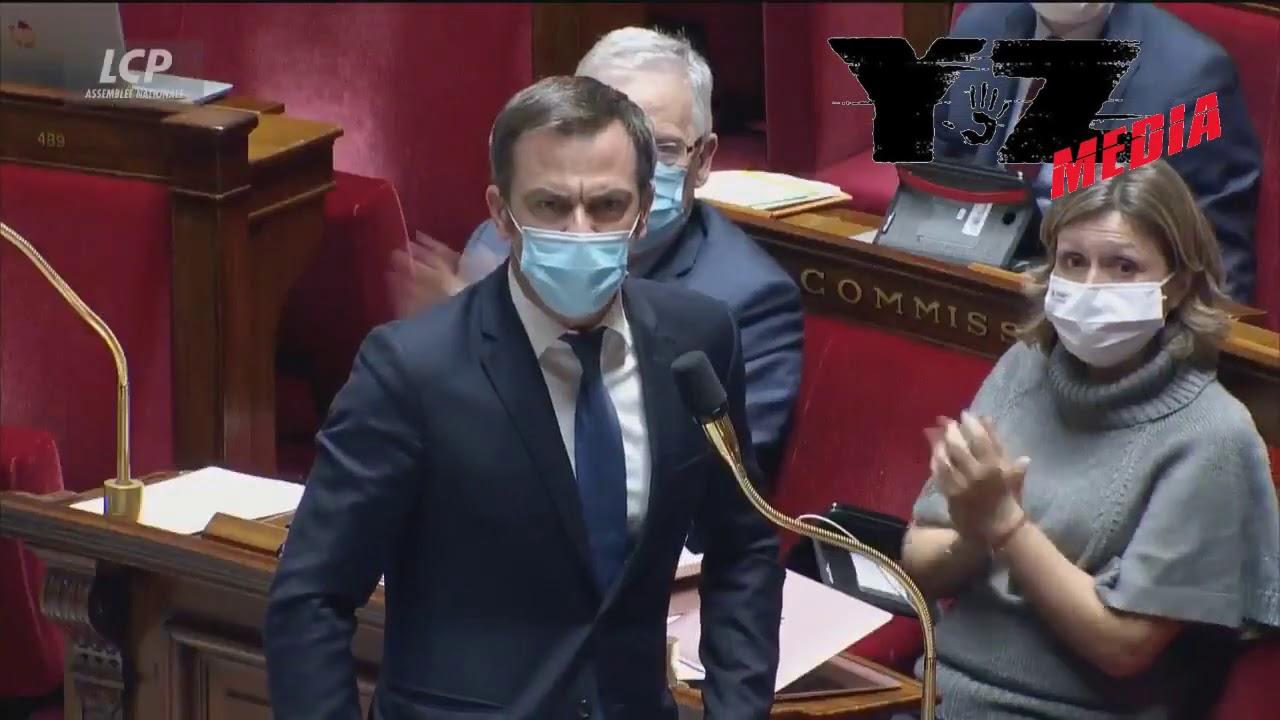 """""""Sortez tous !"""" , du jamais vu , Véran craque à l'Assemblée"""