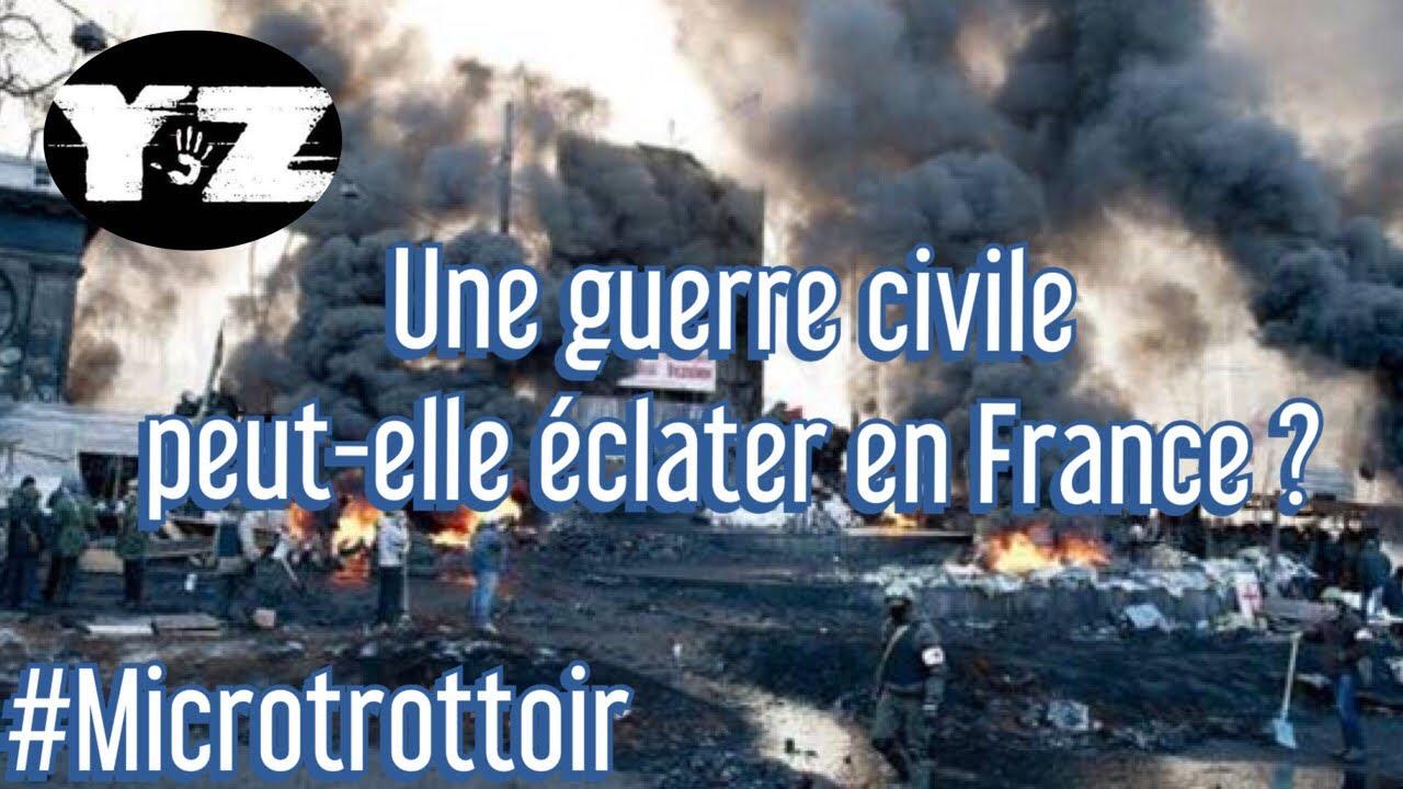Une guerre civile peut-elle éclater en France ?