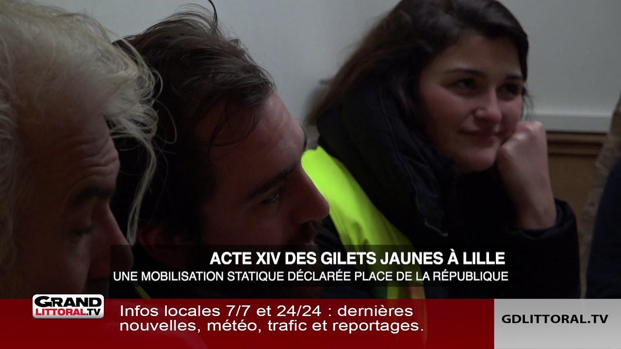 Une mobilisation statique prévue place de la République à Lille ce samedi